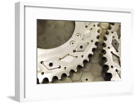 Metal-cutting Tool Production-Ria Novosti-Framed Art Print