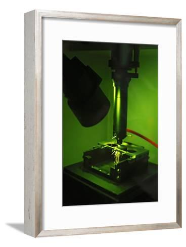 Metal-cutting Tool Production-Ria Novosti-Framed Art Print