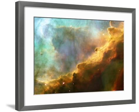Nebula In M17--Framed Art Print