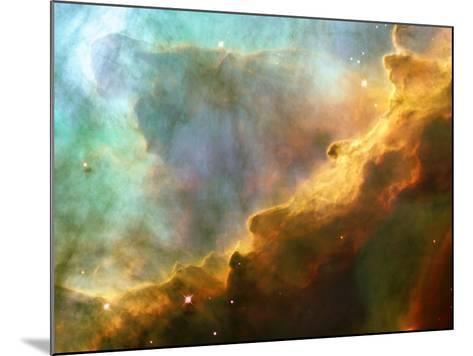 Nebula In M17--Mounted Photographic Print