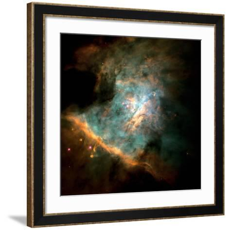Orion Nebula--Framed Art Print