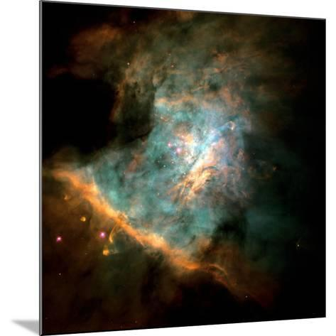 Orion Nebula--Mounted Photographic Print