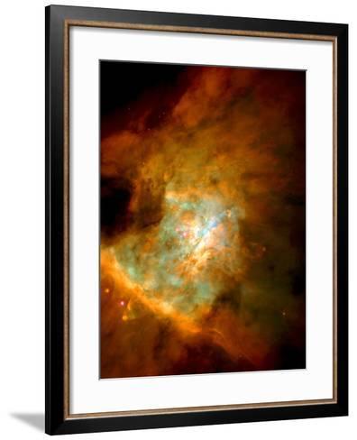 Orion Nebula--Framed Art Print