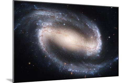 Barred Spiral Galaxy NGC 1300, HST Image--Mounted Photographic Print