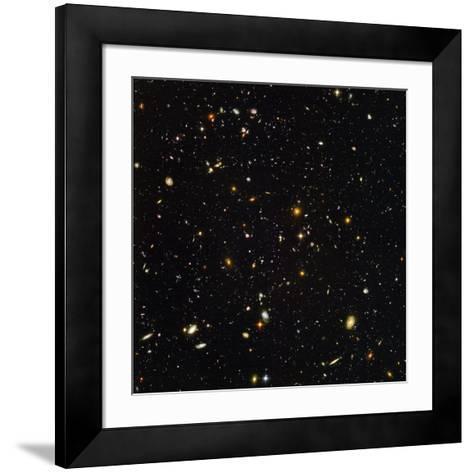Hubble Ultra Deep Field Galaxies--Framed Art Print