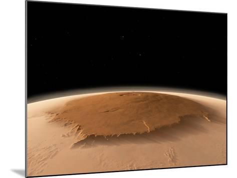 Olympus Mons, Mars, Artwork-Walter Myers-Mounted Photographic Print