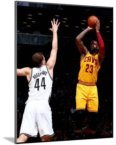 Cleveland Cavaliers v Brooklyn Nets-Nathaniel S Butler-Mounted Photo