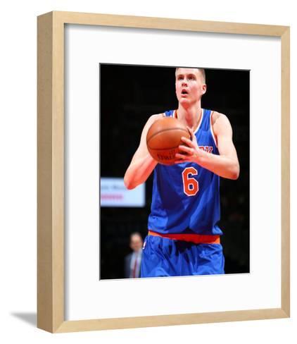 New York Knicks v Washington Wizards-Ned Dishman-Framed Art Print
