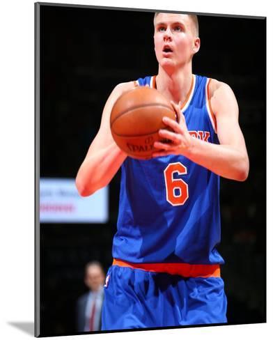 New York Knicks v Washington Wizards-Ned Dishman-Mounted Photo