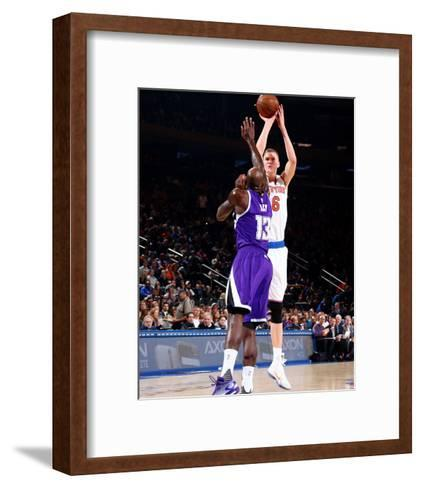 Sacramento Kings v New York Knicks-Nathaniel S Butler-Framed Art Print