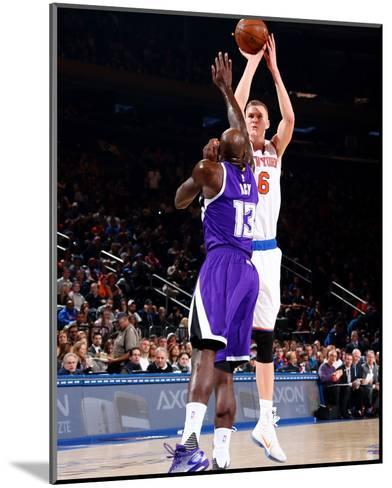 Sacramento Kings v New York Knicks-Nathaniel S Butler-Mounted Photo