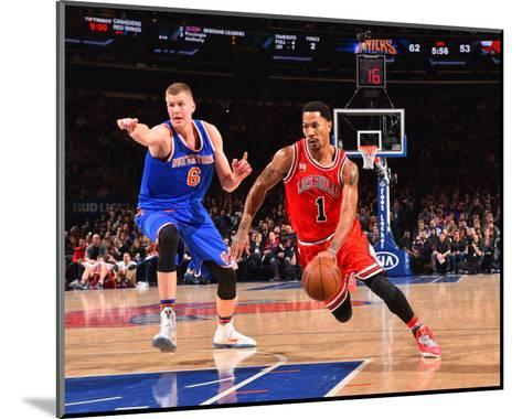 New York Knicks V Chicago Bulls-Jesse D Garrabrant-Mounted Photo