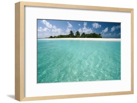 Tropical Beach-Matthew Oldfield-Framed Art Print