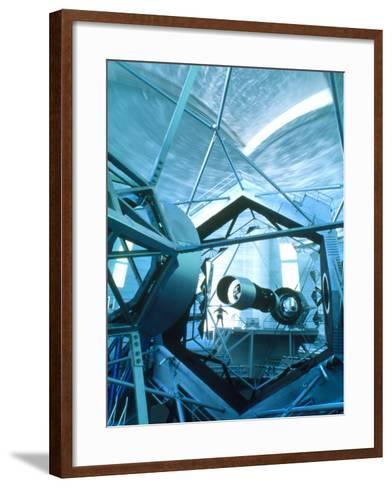Primary Mirror of the Keck II Telescope, Hawaii-David Nunuk-Framed Art Print