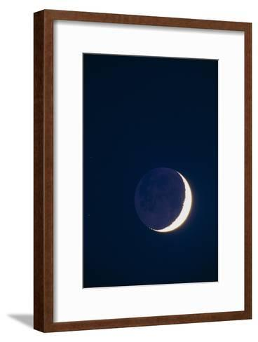 Crescent Moon-David Nunuk-Framed Art Print