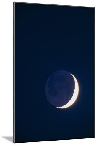 Crescent Moon-David Nunuk-Mounted Photographic Print