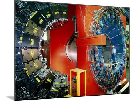CDF Particle Detector, Fermilab-David Parker-Mounted Photographic Print