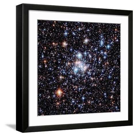 Open Star Cluster NGC 290-E. Olszewski-Framed Art Print