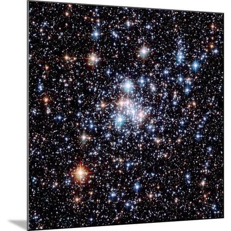 Open Star Cluster NGC 290-E. Olszewski-Mounted Photographic Print