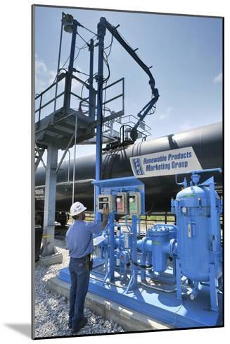 Corn Ethanol Processing Plant-David Nunuk-Mounted Photographic Print
