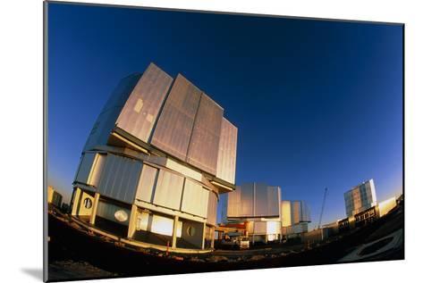 VLT Telescopes-David Nunuk-Mounted Photographic Print