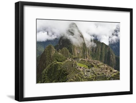Machu Picchu, Peru-Matthew Oldfield-Framed Art Print