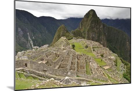 Machu Picchu, Peru-Matthew Oldfield-Mounted Photographic Print