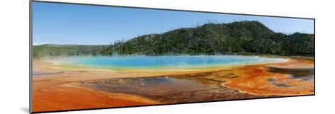 Hot Springs At Yellowstone National Park-Pekka Parviainen-Mounted Photographic Print