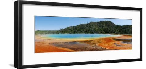 Hot Springs At Yellowstone National Park-Pekka Parviainen-Framed Art Print