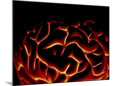 Human Brain, Artwork-PASIEKA-Mounted Photographic Print