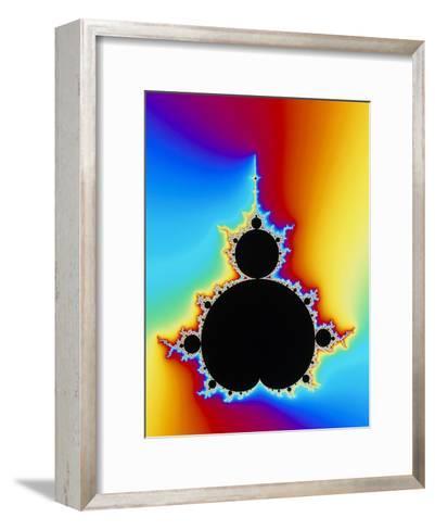 Mandelbrot Fractal-PASIEKA-Framed Art Print