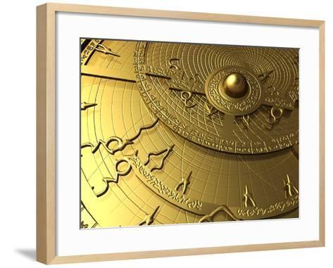 Astrolabe, Computer Artwork-PASIEKA-Framed Art Print