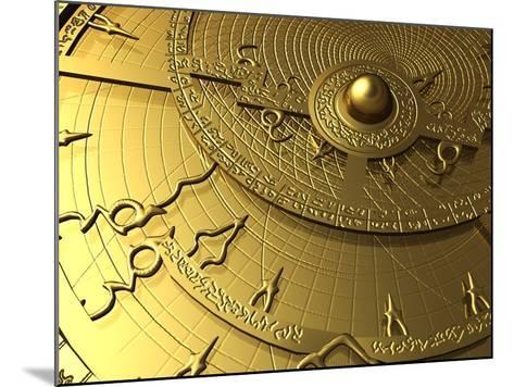 Astrolabe, Computer Artwork-PASIEKA-Mounted Photographic Print