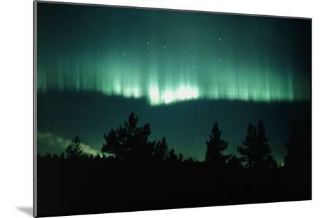 View of An Aurora Borealis Display-Pekka Parviainen-Mounted Photographic Print