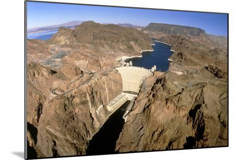 Hoover Hydroelectric Dam, Colorado River, USA-David Parker-Mounted Photographic Print