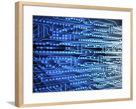 Printed Circuit Board-PASIEKA-Framed Art Print