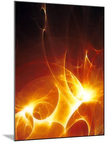 Flames-PASIEKA-Mounted Photographic Print