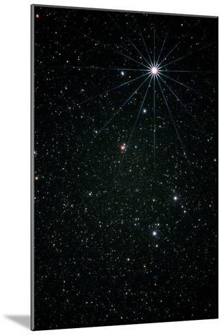 Optical Image of the Constellation of Lyra-Pekka Parviainen-Mounted Photographic Print