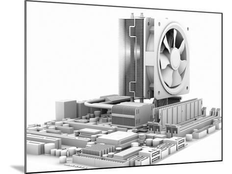 Computer Motherboard, Artwork-PASIEKA-Mounted Photographic Print