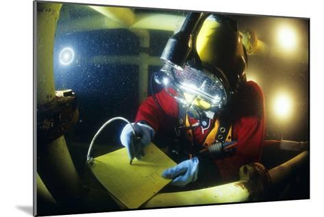 Commercial Diver-Alexis Rosenfeld-Mounted Photographic Print