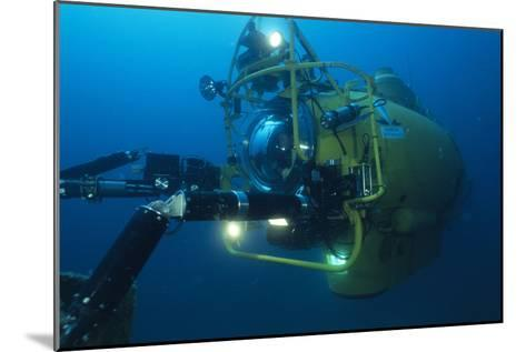 Navy Submersible-Alexis Rosenfeld-Mounted Photographic Print