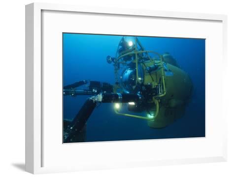 Navy Submersible-Alexis Rosenfeld-Framed Art Print
