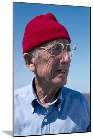 Jacques-Yves Cousteau, French Diver-Alexis Rosenfeld-Mounted Photographic Print