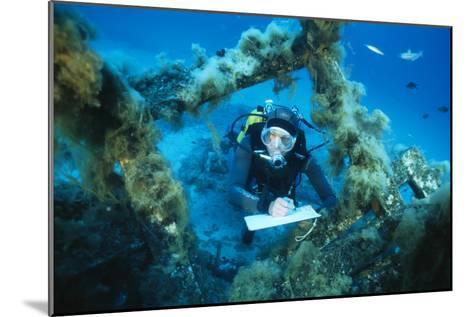 Underwater Biological Research-Alexis Rosenfeld-Mounted Photographic Print