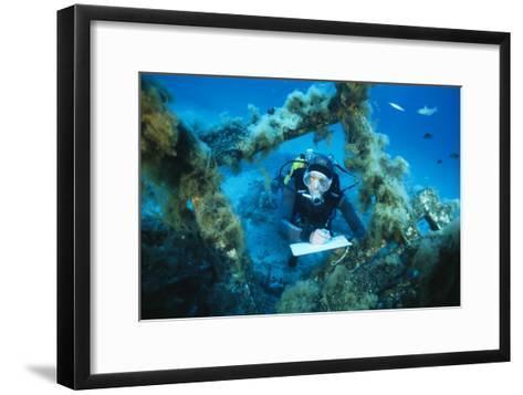 Underwater Biological Research-Alexis Rosenfeld-Framed Art Print