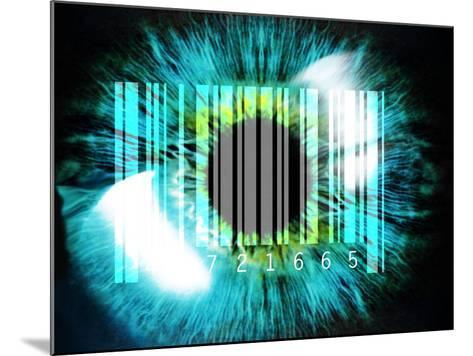 Biometric Eye Scan-PASIEKA-Mounted Photographic Print