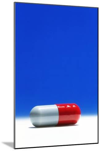 Capsule of Broad-spectrum Antibiotic Drug-David Parker-Mounted Photographic Print