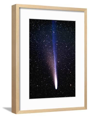 Comet Ikeya-Zhang-Pekka Parviainen-Framed Art Print