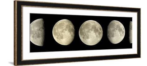 Phases of the Moon-Pekka Parviainen-Framed Art Print