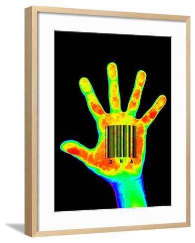 Genetic Individuality-PASIEKA-Framed Art Print